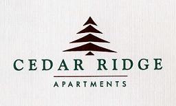 Cedar Ridge Apartments logo