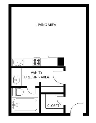 Mass Place Efficiency Floor Plan