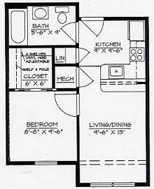 Morris Glen Apartments MGA Floor Plan